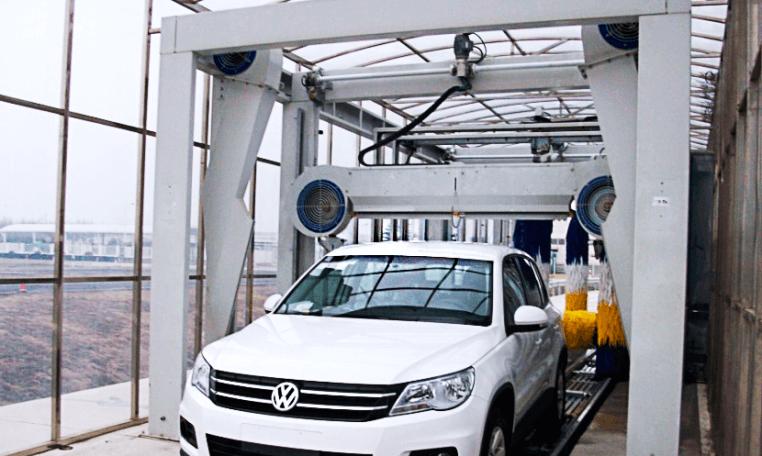 Araç Yıkama Fırçalı ve Tünel Yıkama Sistemleri