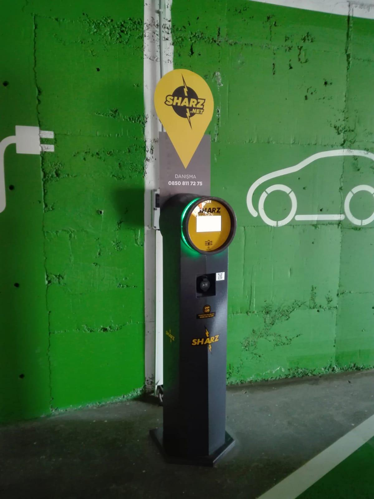 Elektrikli Araç Şarj Üniteleri